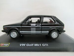 BURAGO CLASSICS VW GOLF Mk1 GTI SCALE 1:32 #18-43205