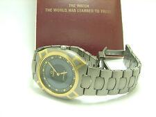 Omega Seamaster Armbanduhr Polaris Quarzwerk Titan Gold Multifunktional