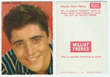 SACHA DISTEL  petite carte éditée par MILLIAT FRERES  Collection Photos Vedettes