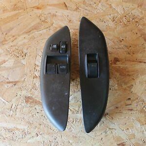 2003-2005 TOYOTA YARIS P2 T SPORT ELECTRIC WINDOW SWITCHES X2 CARBON JDM OEM