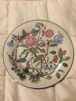 VINTAGE GORHAM FAIRMEADOWS LARGE FINE CHINA PINK FLORAL DINNER PLATE DISH