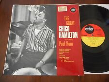 CHICO HAMILTON The Great EMBER LP 1966 Featuring PAUL HORN