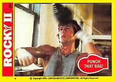 1979 Topps Rocky II #27 Punch That Bag! > Balboa > Sylvester Stallone