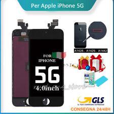DISPLAY PER IPHONE 5 LCD TOUCH SCREEN VETRO SCHERMO RETINA ASSEMBLATO A1428