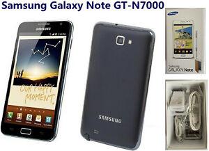 Samsung Galaxy Note GT-N7000 16GB Black GSM Unlocked 8.0MP Smartphone WiFi GPS