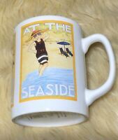 At The Seaside Coffee Mug, Mary Engelbreit Design, Oz, Made in Taiwan, Vintage