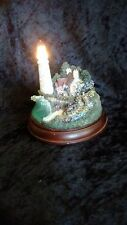 "Thomas Kinkade Lighthouse Figurine ""The Light Of Peace"""