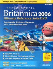 Encyclopaedia Britannica 2006 Ultimate Reference Suite (DVD)
