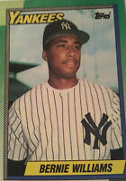 Bernie Williams 1990 New York Yankees Rookie Topps 701