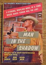 Harry Whittington Man in the Shadow Avon Vintage PB Orson Welles Jeff Chandler