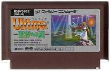 """ ULTIMA IV 4 "" QUEST OF THE AVATAR NINTENDO FAMICOM NES FC JAPAN"