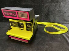 Polaroid Neon Pink & Yellow Cool Cam 600 Camera
