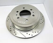 POWER STOP AR8598XR DRILLED & SLOTTED BRAKE ROTOR RIGHT SIDE
