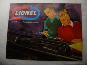 1966 Lionel Consumer Catalog    Original  Mint Condition