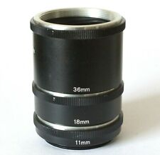Panagor Macro Auto Extension Tubes For M42 Screw Lens Mount
