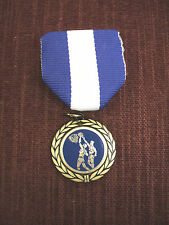 team lot of 10 male action basketball medals blue and white pin ribbon