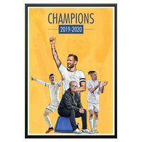 Leeds United 2020 Champions Promotion Poster Photo Print Leeds Utd Memorabilia