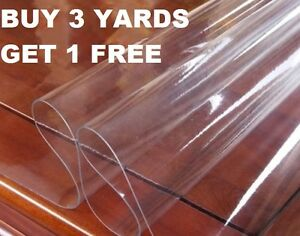 Clear Plastic Waterproof Tablecloth Vinyl PVC Waterproof Fabric Material instock