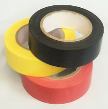 High Quality PVC Electrical Wire Insulating Tape Roll Tape 3 Color 9.9ft/3.0m