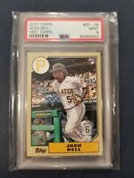 2017 Topps 1987 Topps #87-36 JOSH BELL RC Pirates Rookie Card PSA 9 Mint