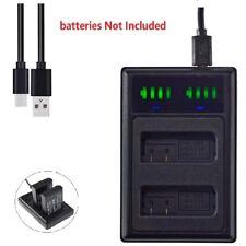 USB Dual EN-EL14A Battery charger For Nikon D3100 D3200 D3300 D3400 D5200 D5300