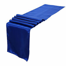 "12""x108"" Satin Table Runner Wedding Reception Banquet Party Decoration"