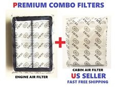 COMBO PREMIUM Engine & Cabin Air filters set For 15-17 HYUNDAI Sonata 2.4L ONLY