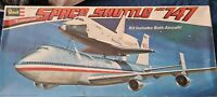 Revell Boeing 747 SCA and Space Shuttle model kit 1:144 scale
