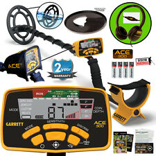 Garrett ACE 300 Metal Detector Waterproof Coil, Headphones & Free Accessories