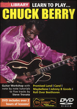 Lick Library LEARN TO PLAY CHUCK BERRY Guitar Lessons Video DVD W. Steve Trovato