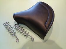 BSA BANTAM D1 D3  LYCETTE TYPE SMALL SOLO SEAT SADDLE & SPRINGS  'NEW' UK MADE