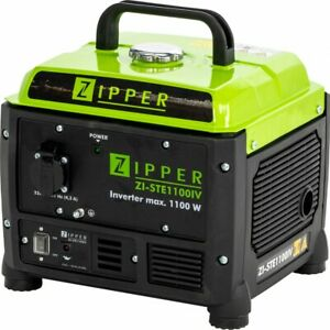 Zipper Inverter Stromerzeuger Notstromaggregat Benzin Generator 230 V 1100W
