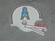 HOUSTON OILERS Vintage NFL RUBBER Football FRIDGE MAGNET Standings Board texans