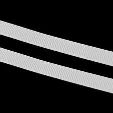 10 m Ripsband 10mm Webband Borte Zierband Nähen Dekoband Scrapbooking Weiss C239