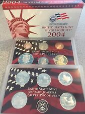 **BEST PRICE** 2004 US MINT SILVER PROOF SET OF 11 COINS **BEST PRICE**