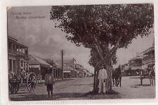 VINTAGE POSTCARD VICTORIA STREET, MACKAY QLD 1907
