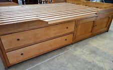 King Size Oak Storage Bed