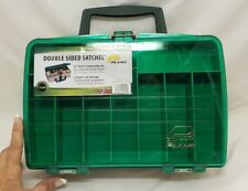 New Double Sided Fishing Box Plano 1120 Satchel Tackle Organizer for parts/craft