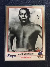 JACK JOHNSON Galveston, TX  1991 KAYO Boxing #64  NM/MT+ w/Top Loader!