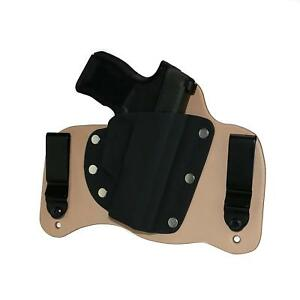 FoxX Leather & Kydex IWB Hybrid Holster Sig Sauer P365 Right Natural Tuckable