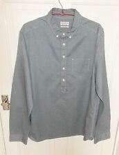 AllSaints Button Down Long Sleeve Cotton Men's Casual Shirts & Tops