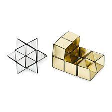 Yoshimoto CUBE No.1 Puzzle Gold & Siver MoMA Naoki Yoshimoto New Japan