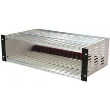 GE Interlogix 517R1 Hi densità Cage Rack per 17 carte UTC FIRE & video della sicurezza