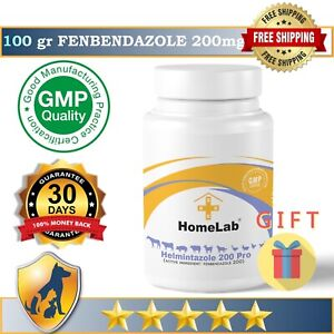 Helmintazole 200 (20%)  100Gr Powder De-wormer Panacur Safe Guard Dog