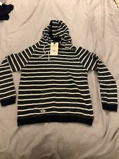 quba sails seadragon hoodie navy white size M PRP £65