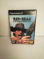 Red Dead Revolver PlayStation 2 PS2 Complete CIB