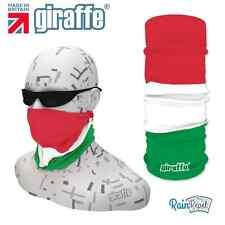 G406 Italian italy Flag Headgear Neckwarmer multifunctional Bandana Headband