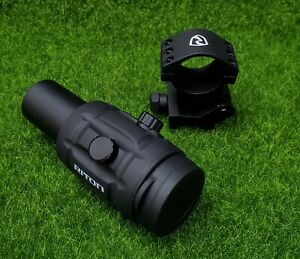 Riton Optics Scope X1 TACTIX MAG3 Red Dot Magnifier - 1TM3
