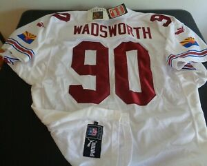 ANDRE WADSWORTH Arizona CARDINALS Sewn PUMA Vintage Size 52 Jersey NEW Football