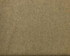 Abraham Moon Earth Sand   100% Wool Plain Upholstery Curtain Fabric   CLEARANCE